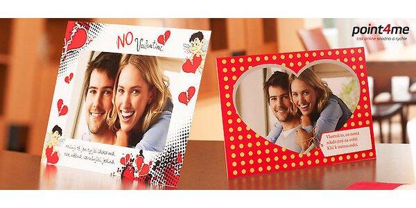 Originálne valentínske fotoprianie vrátane dodania