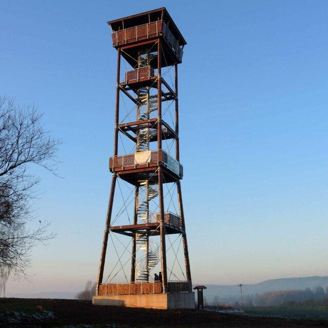Rozhľadňa na vrchole kopca Signál