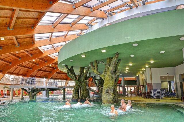 Hungarospa – Aqua Palace Kryté zážitkové kúpele