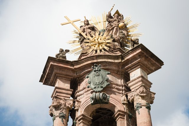 Morový stĺp a Námestie sv. Trojice, Banská Štiavnica