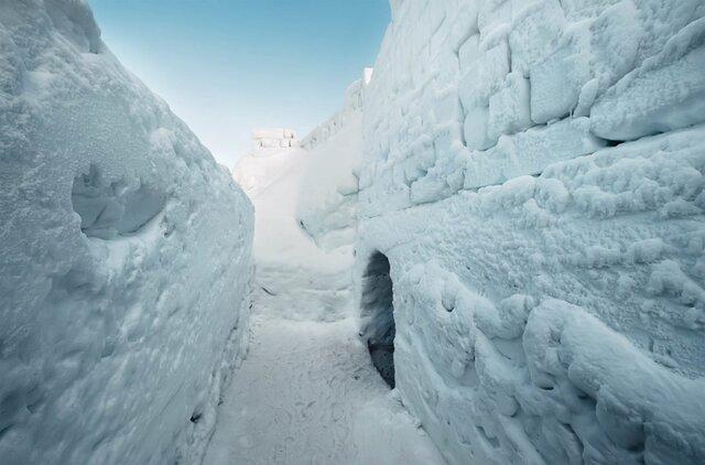 Najväčší snežný labyrint na svete
