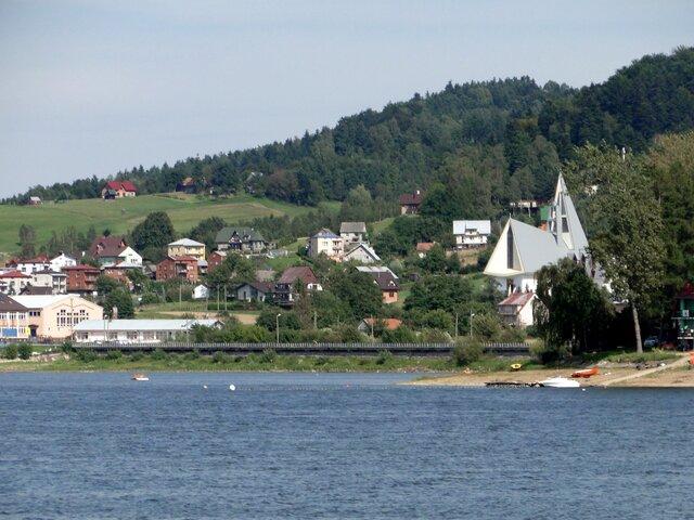 Pláž v Gródku nad Dunajcem