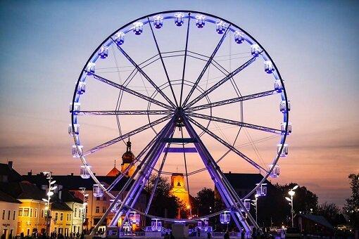 Ruské koleso, Győr