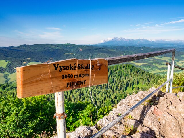Wysoka - Vysoké Skalky