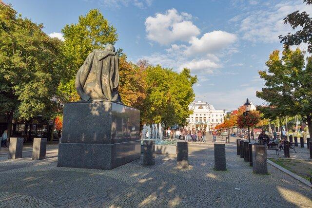 Hviezdoslavovo námestie v Bratislave