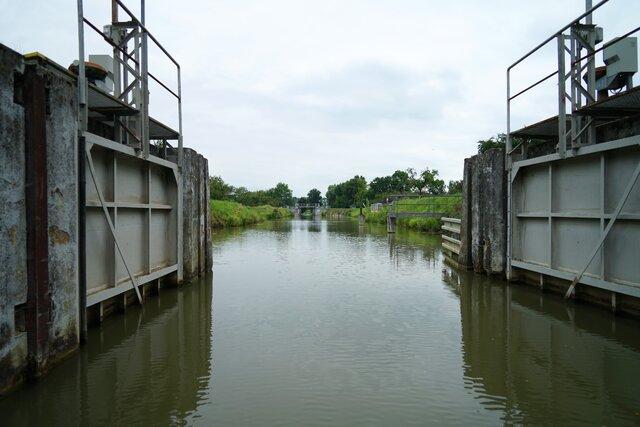 Baťov kanál - prístav Napajedla