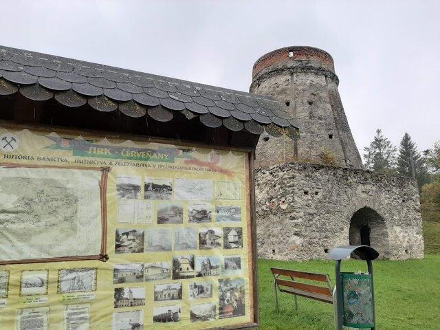 Vysoká pec Sirk - Červeňany