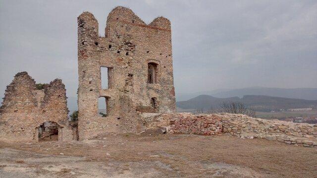 Zrúcanina hradu Divín