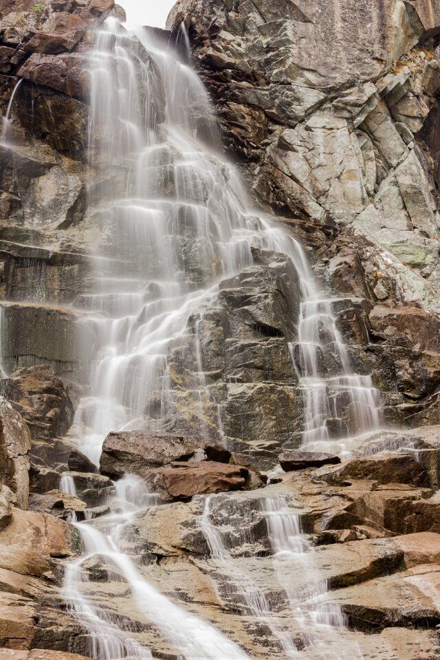 Závojový vodopád