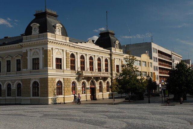 Svätoplukovo námestie v Nitre
