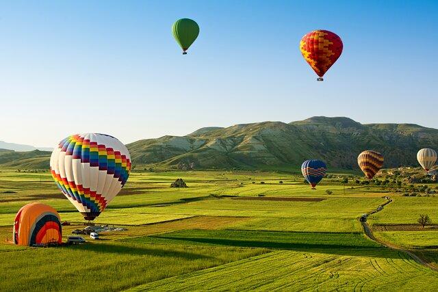 Let balónom v Košiciach