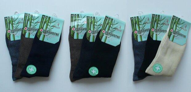 Dámske ponožky s bambusovým vláknom.