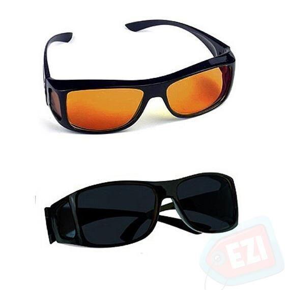 bdf662236 Úžasné okuliare pre vodičov polarizačné + protislnečné, 2 kusy v ...