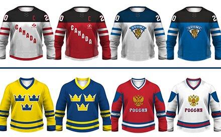 df5fbb66f26 Hokejový dres alebo mikina s vlastným menom a číslom + minidres ...