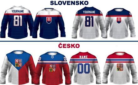 c3e044890ac Hokejový dres alebo mikina s vlastným menom a číslom + minidres zadarmo –  NOVINKA  Mikina s dizajnom dresu!