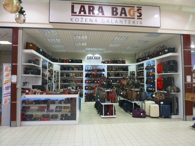 55e598a057 Prevádzky LARA BAGS môžete na slovenskom trhu evidovať od roku 2004. Od  tohto obdobia tvoria širokú sieť predajní