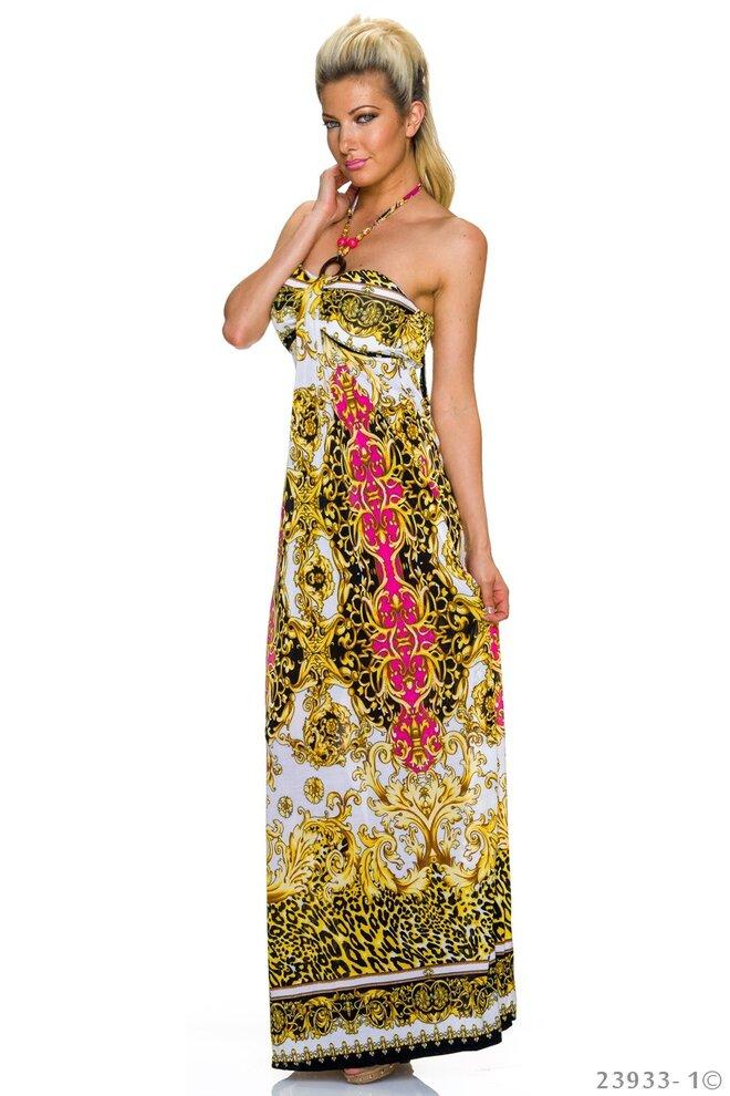 Dámske plážové šaty Miss White – pink 3a9f3312dc3