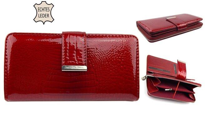 202669bdfc Lakovaná kožená peňaženka Jennifer Jones