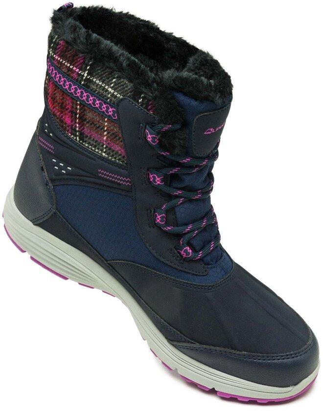 Kvalitné dámske zimné členkové topánky Alpine  57cf131376d