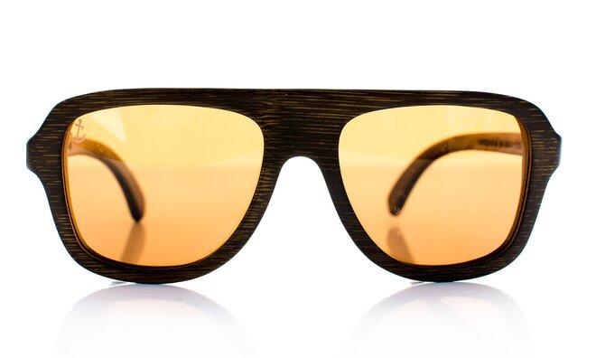 Štýlové slnečné okuliare z bambusového dreva  331cc63fd69