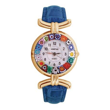 35115e11e Krásne dizajnové hodinky z muranského skla | Zlavomat.sk