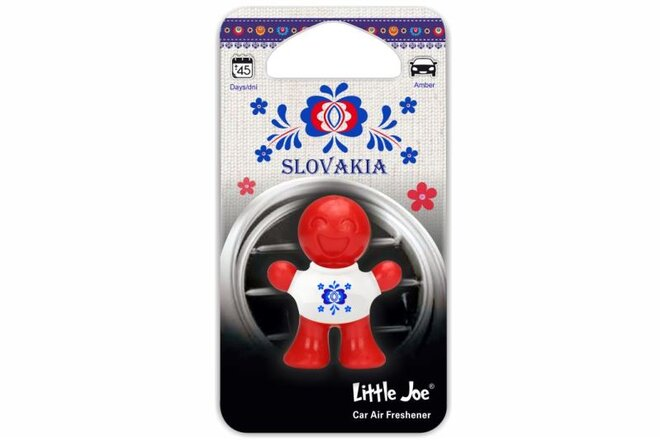 Osviežovač vzduchu do auta Little Joe 3D (Amber ľudový motív)
