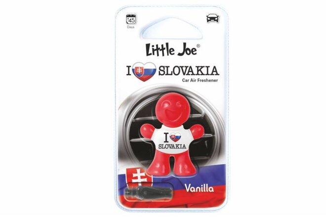 Osviežovač vzduchu do auta Little Joe 3D (Vanilla I Love You Slovakia)