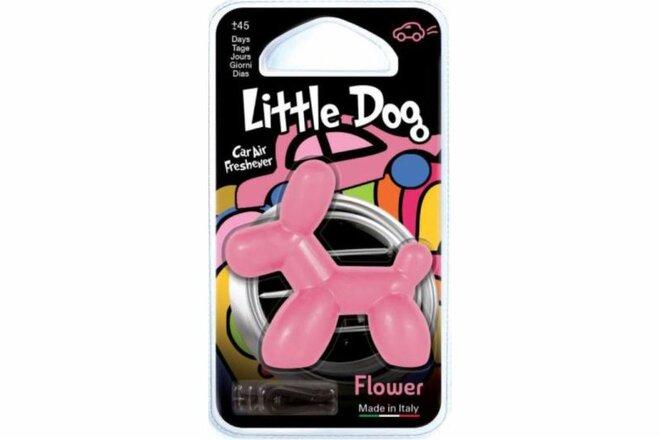 Osviežovač vzduchu do auta Little Dog 3D (Flower)