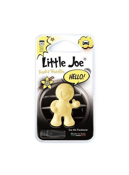 Osviežovač vzduchu do auta Little Joe OK - Hello! (Funky Vanilla)