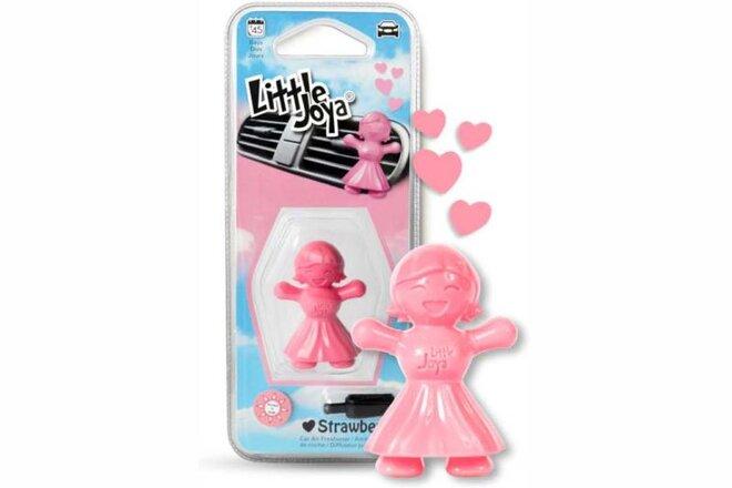 Osviežovač vzduchu do auta Little Joya 3D (Strawberry)