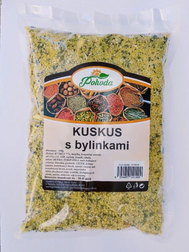 500 g Kuskus (s bylinkami)
