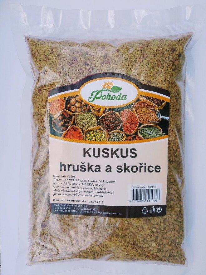 500 g Kuskus (hruška a škorica)