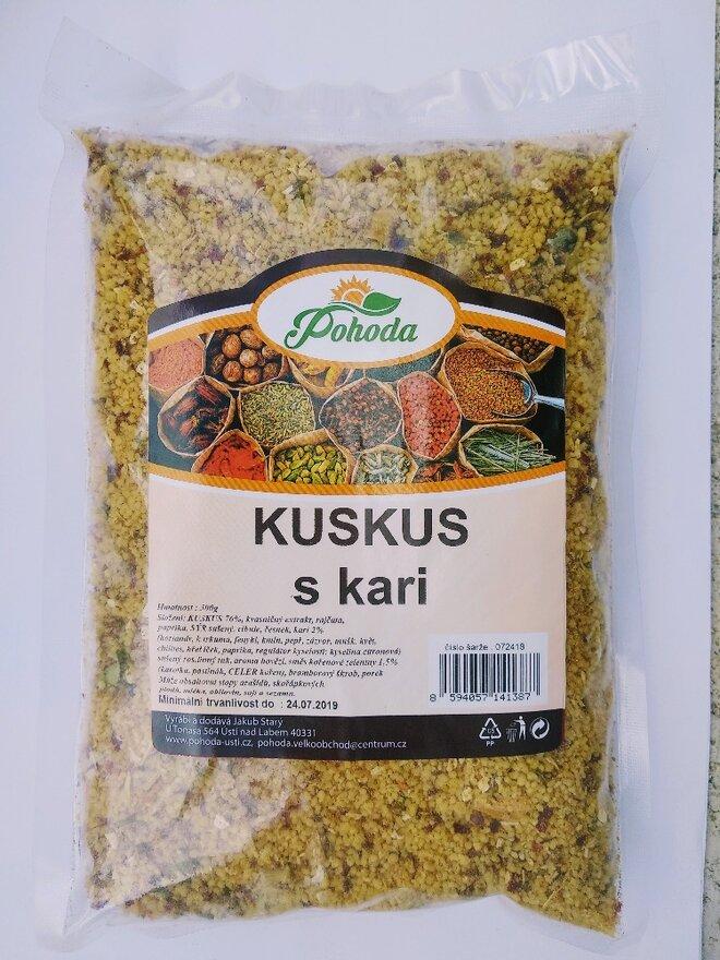 500 g Kuskus (s kari)