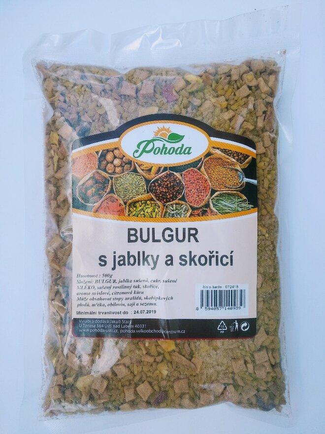 500 g Bulgur (jablko a škorica)