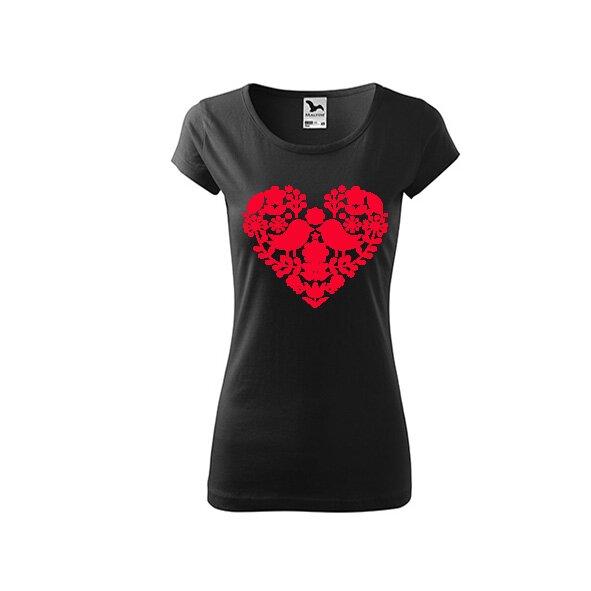 Dámske tričko (Srdce)