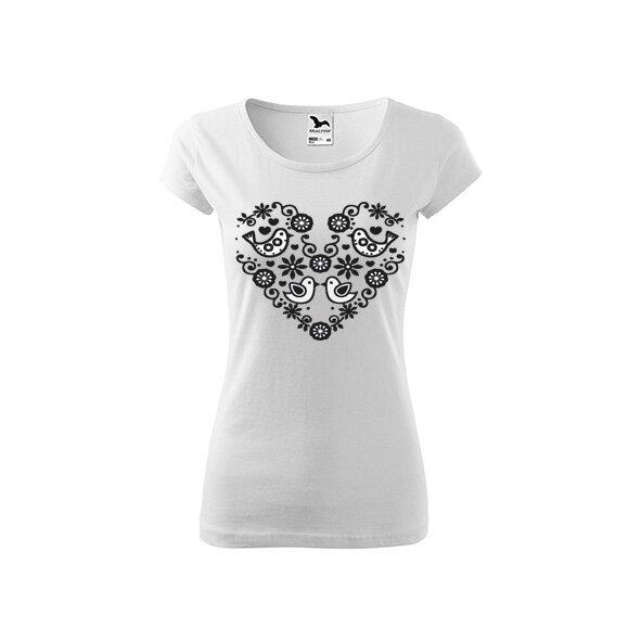 Dámske tričko (Vtáčiky)