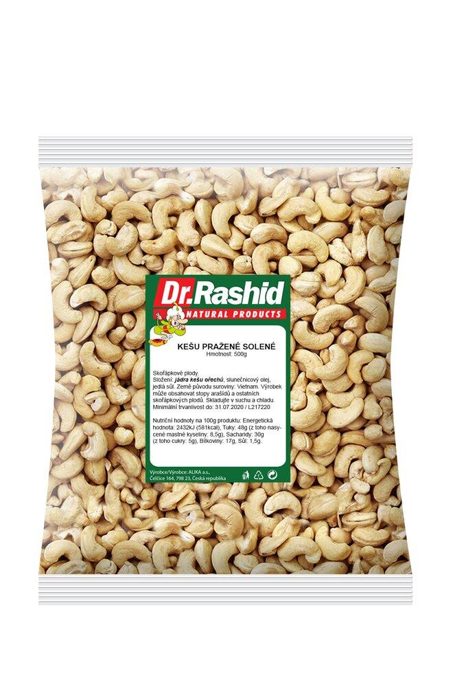 500 g Kešu orechy pražené solené