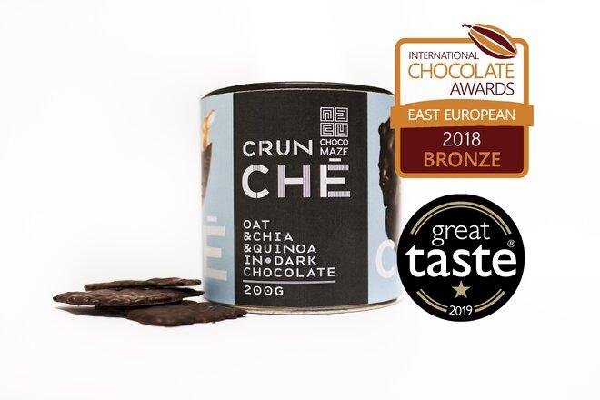 200 g Chrumkavý krokant CRUNCHÉ (ovsené vločky / chia / quinoa)