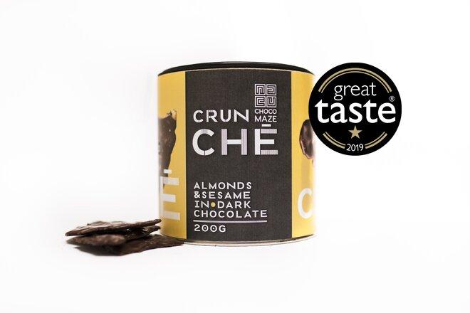 200 g Chrumkavý krokant CRUNCHÉ (plátky mandlí / sezam)