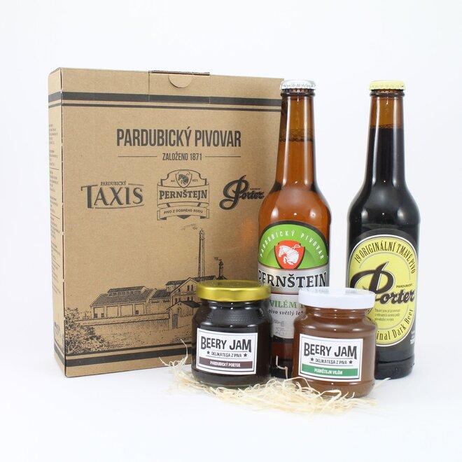 Darčekové balenie pív a džemov MIX