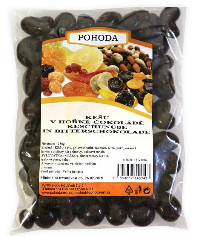 250 g Kešu v horkej čokoláde