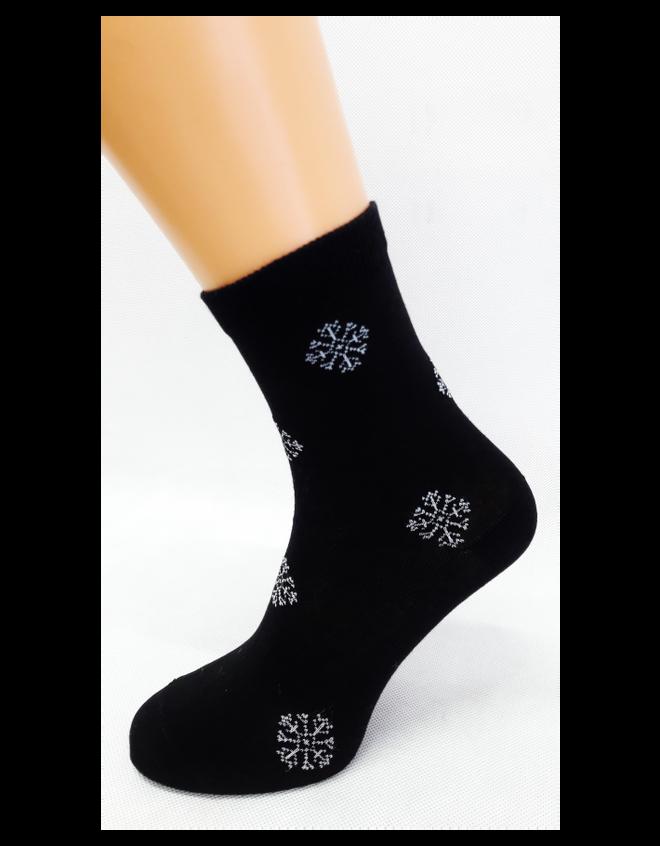 Bláznivé dámske ponožky Vločky