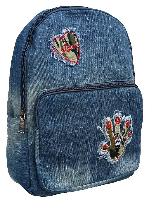 Dámsky jeansový ruksak (model 1803-2)