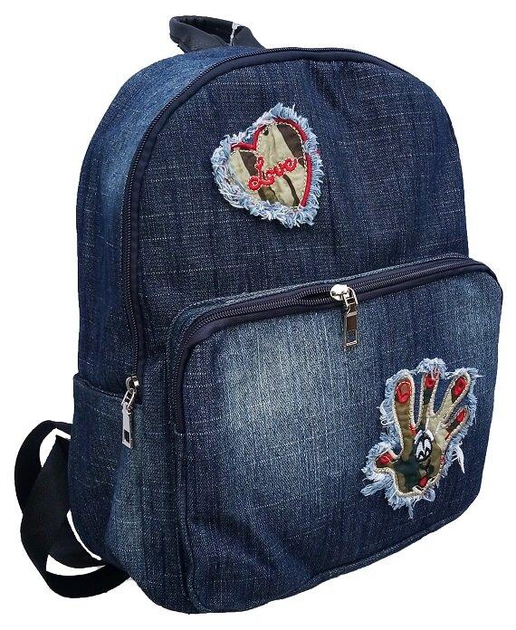 Dámsky jeansový ruksak (model 1803)