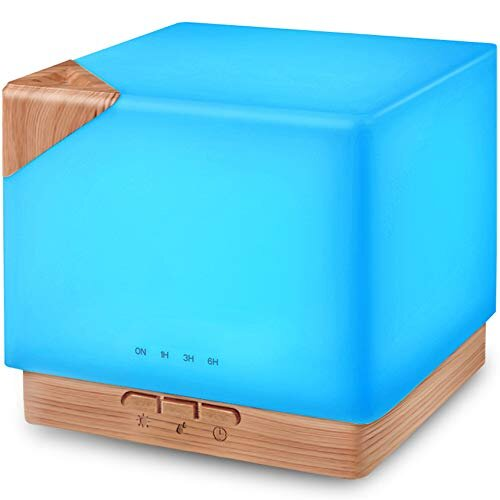 700 ml Difúzer Cube - Svetlý + Éterický olejček