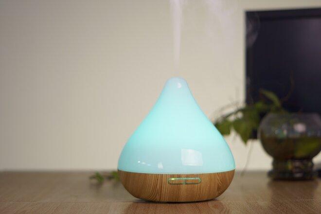300 ml Difúzer Cone - Svetlý + Éterický olejček