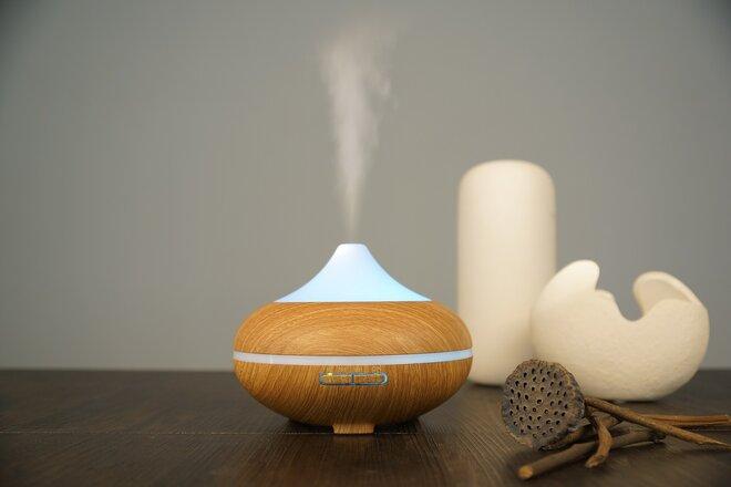 500 ml Difúzer Volcano - Svetlý + Éterický olejček