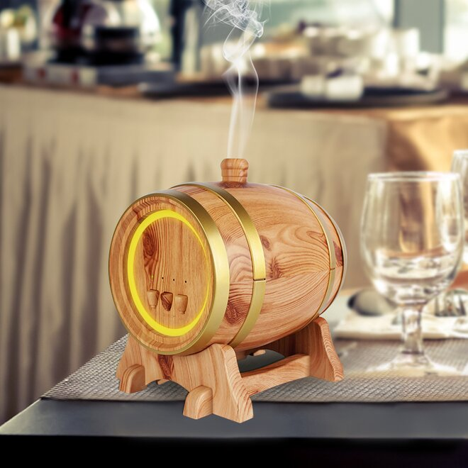 350 ml Difúzer Barrel - Svetlý + Éterický olejček