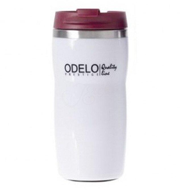 0,28 l Termohrnček ODELO OD1447 (biela + bordová)