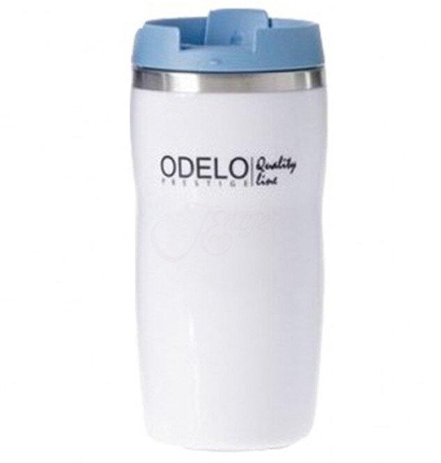 0,28 l Termohrnček ODELO OD1447 (biela + modrá)